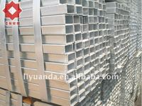 pre-galvanized square pipe astm a671