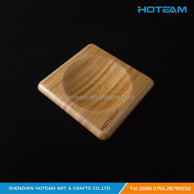 Oak Wood Coin Tray Money Coin Holder