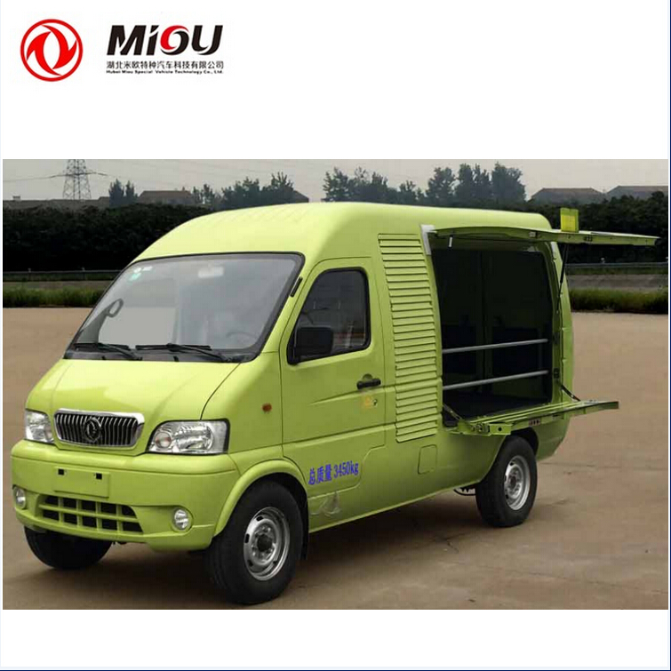 China OEM manufacturers pure electric truck van cargo for sale