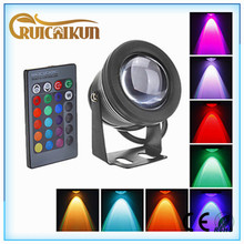 3 years warranty 12V 10w RGBW IP68 underwater black light led lights