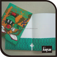 decorative pp pocket file folder
