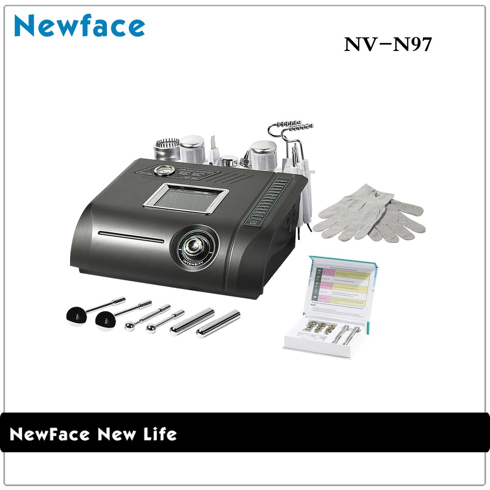 China Supplier NV-97 ultrasonic skin scrubber color photon ultrasonic beautiful skin instrument dermabrasion equipment