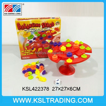 new creative ABS topple educational toy balance scale toy with EN71