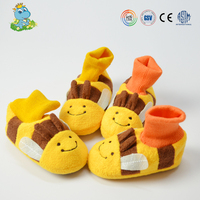 Kids lighted slipper baby boot shoes manufacturer in China