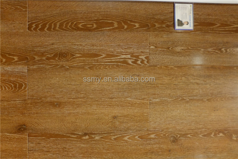 12mm Handscraped wood AC4 grade laminated flooring