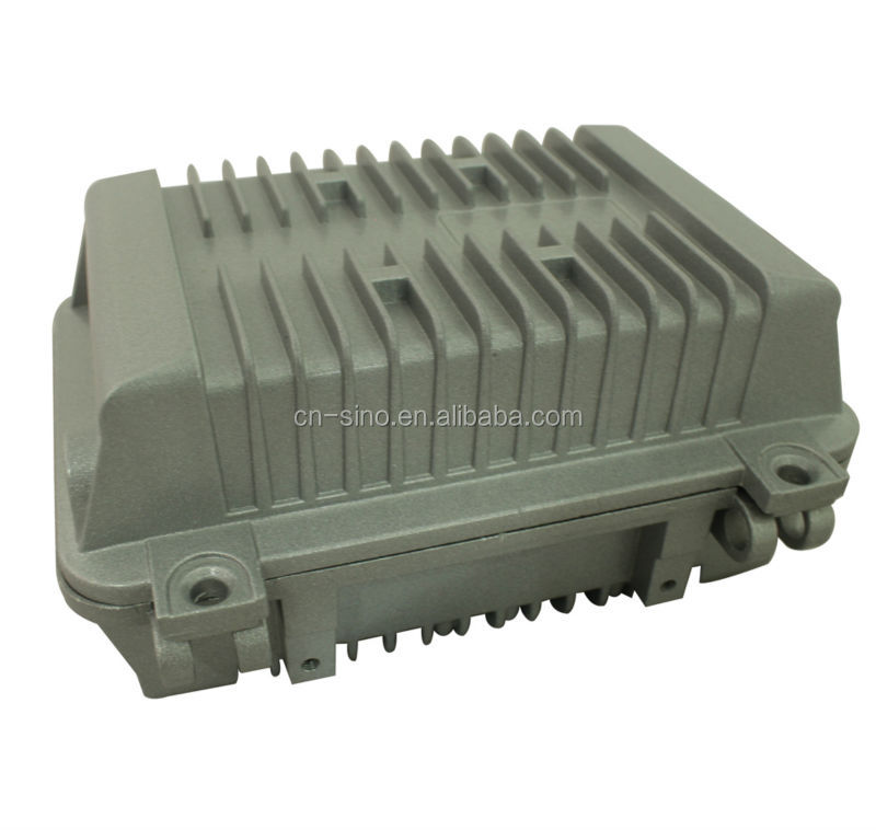 Outdoor CATV Amplifier Housing,Aluminum Junction Box with Cable Entry