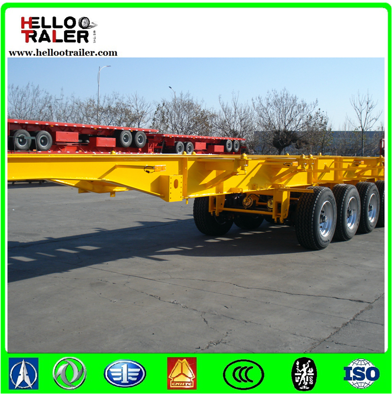 Container Chassis, 40FT Skeleton Semi Trailer