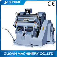 ML-1500-1100-930 discount hand feed platen flute paper die cutting machine with wooden mould