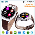Genuine Bluetooth V4.0 sport watch phone For Samsung S4/S5/S6/S7