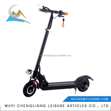 2017 high quality 350w 8inch two wheeooter electric motorcycle scooter for adult