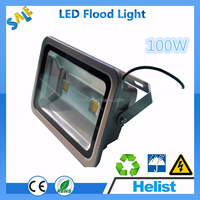 High intensity toughened glass cover outdoor 100w 12v led flood light