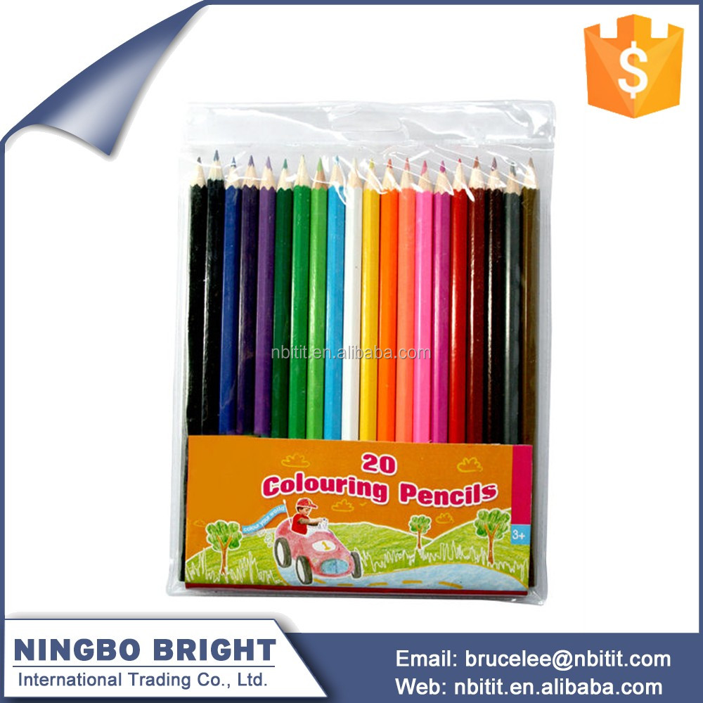 Factory cheap price multi color water-soluble colored pencil