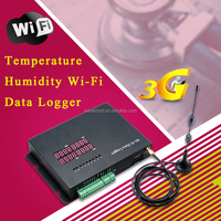 Temperature Humidity Wi-Fi Data Logger with Analog/digital input and gprs data acquisition software