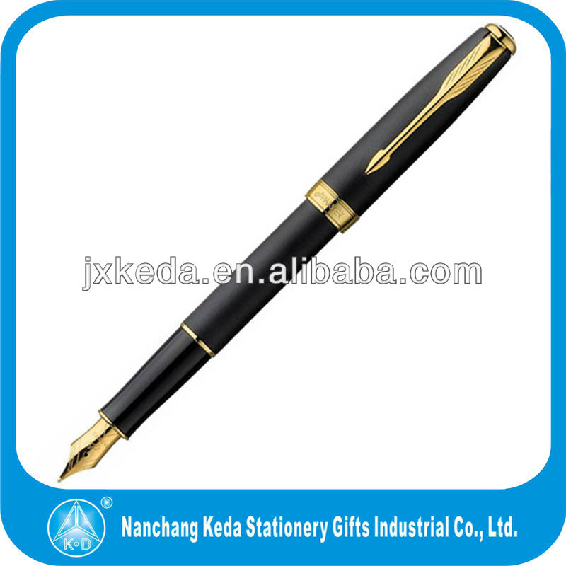 2015 high quality business lacquer Parker Sonnet fountain pen with golden nip
