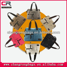 Korean washed canvas bag , new ladies handbags , wild fashion handbag messenger bag for men and women