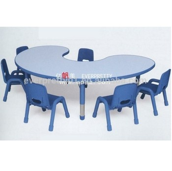 Qatar Tender Children Table Kids PP Chair Kids Desk Chair