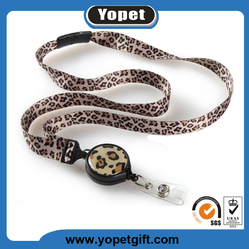 Custom printed key chain neck strap high quality