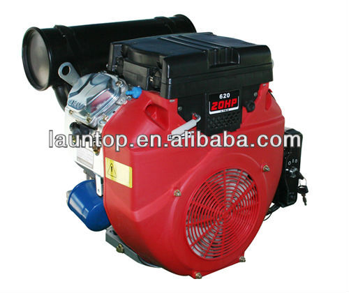 EPA approved 20HP twin-cylinder gasoline engine