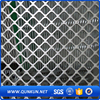 Ornamental galvanized expanded plate mesh for wall adornments