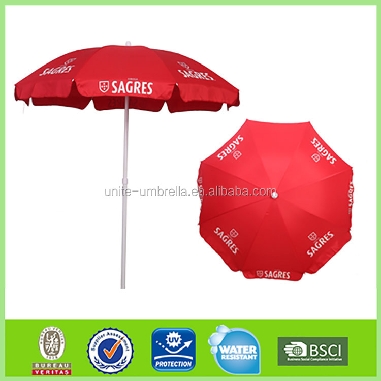 waterproof umbrella with uv anti good quality beach umbrella L-b158