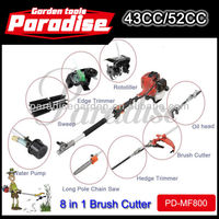 Multi Tools PD-MF800 Garden Tools Machine 43cc52cc Brush Cutter Engine