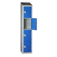 10-year Manufacturer Steel Locker Godrej Steel Office Furniture Steel 4 Compartment Storage Cabinet Metal Lockers Sale
