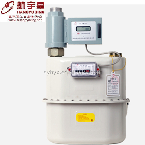 G10 prepaid industrial LPG Commerical diaphragm gas meter