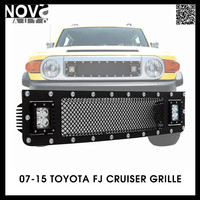 Auto Front Grille For Led Light Bar,Truck Parts Led Light Bar Behind Grilles