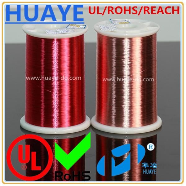UL REACH certificated AWG 38 card rfid inlay round magnet enameled copper wire
