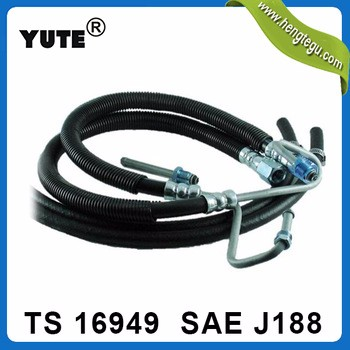 YUTE made 3/8 inch power steering pump hose for honda with SAE J188