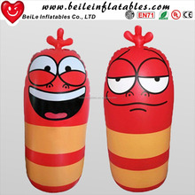 Cheap Stock Inflatable Roly Poly Toy and red inflatable cartoon roly-poly for Sale