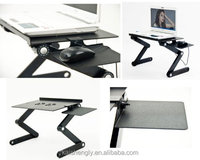 Mini flexible adjustable height computer table
