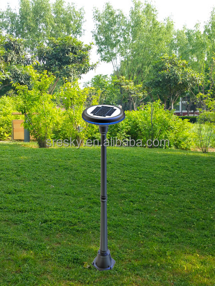 New product 2016 decorative garden lamp post manufactured in China