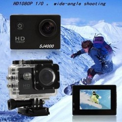 Original SJ4000 Full HD1080P Helmet Motorcycle Bicycle Outdoor Sport Action Cam With 1.5inch Screen and Mounting Kit