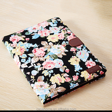 PU leather tablet protactive case with auto sleeping wake up function for IPAD