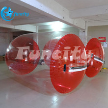 Fantastic Single Layer 0.8 Mm Pvc/Tpu Inflatable Water Roller Ball For Water Toy Games
