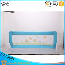 Factory direct supply baby bedrail/one button foldable bed guardrail/comp0etitive price bedrail for children safety