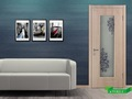 Easy Way Top Quality MDF Melamine Door Interior Doors For Bedroom