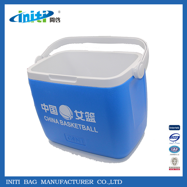 Heavy-Duty Hard Plastic Storage Containers Cooler Box With Wheels Bottle
