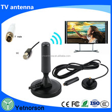 Popular 10DBI DVB-T DVB T2 Antenna 3M Length Indoor dvb/vhf/uhf antenna tv antenna rotator for car home use