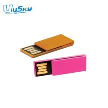 best selling mini metal flash drive with laser engraved & printing logo