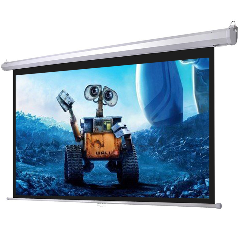16:9 Advertising Roll Up Projector Screen