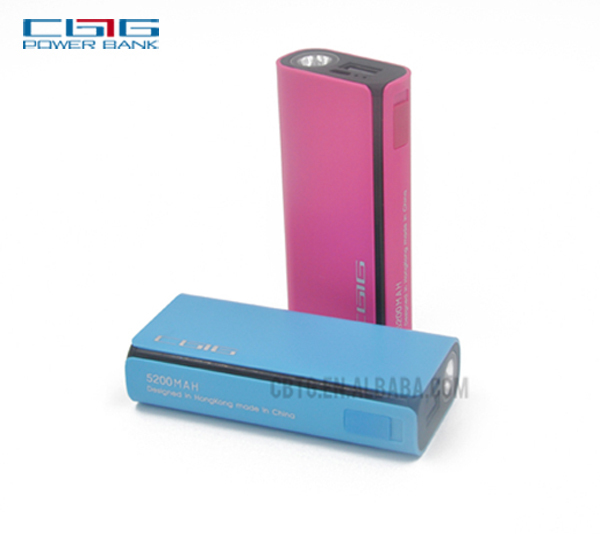 New arrival high grade mobile power bank extern battery charger with gift packing box
