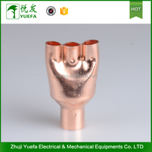 Customized Branch Pipe Air Conditioner Copper Pipe