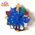beautiful cute animals shaped wall clock for sale W14K046