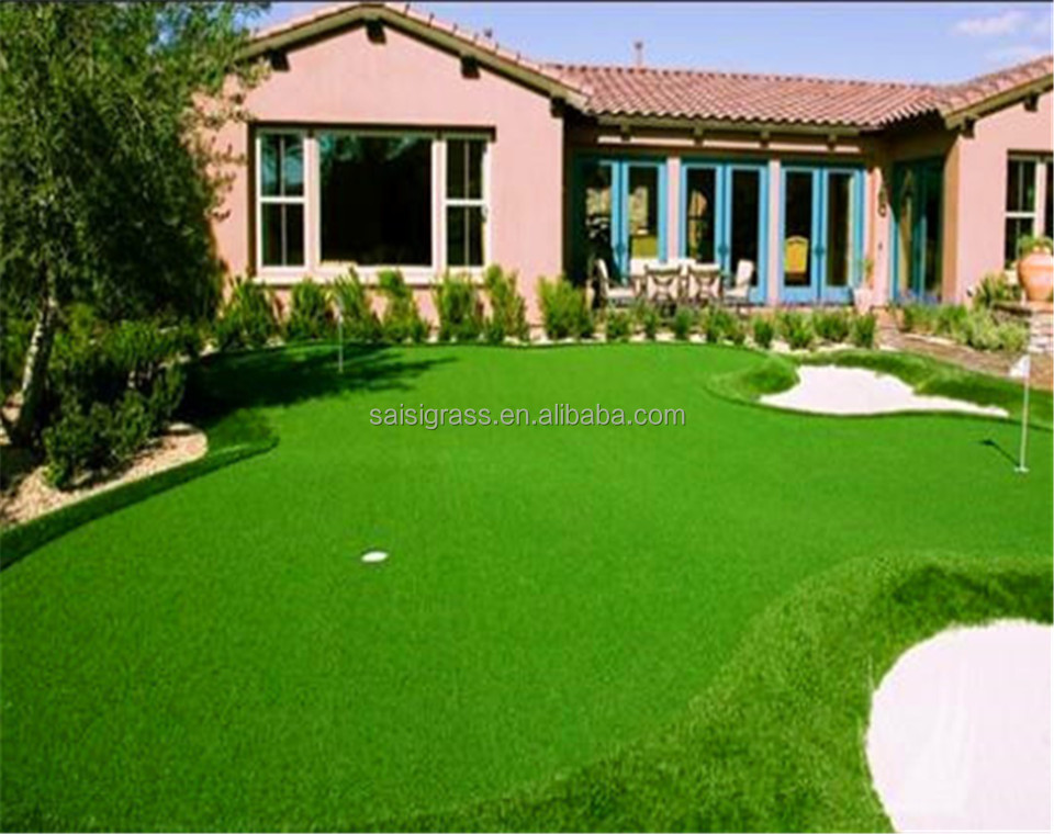 Natural look soft feel Cheap artificial grass carpet for home decoration