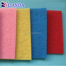 different color scouring pad in packed/ mesh metal scouring pads/ cleaning sponge