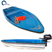 Strong Fiberglass diesel engine 4-person rowing boat