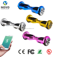 6.5 inch Hot Pink Hoverboard 2 Wheel Electric Standing Scooter E Scooter