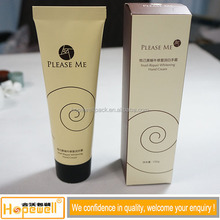 China Newest factory hot sale face cream packaging aluminum tube, packaging cosmetic aluminum tube